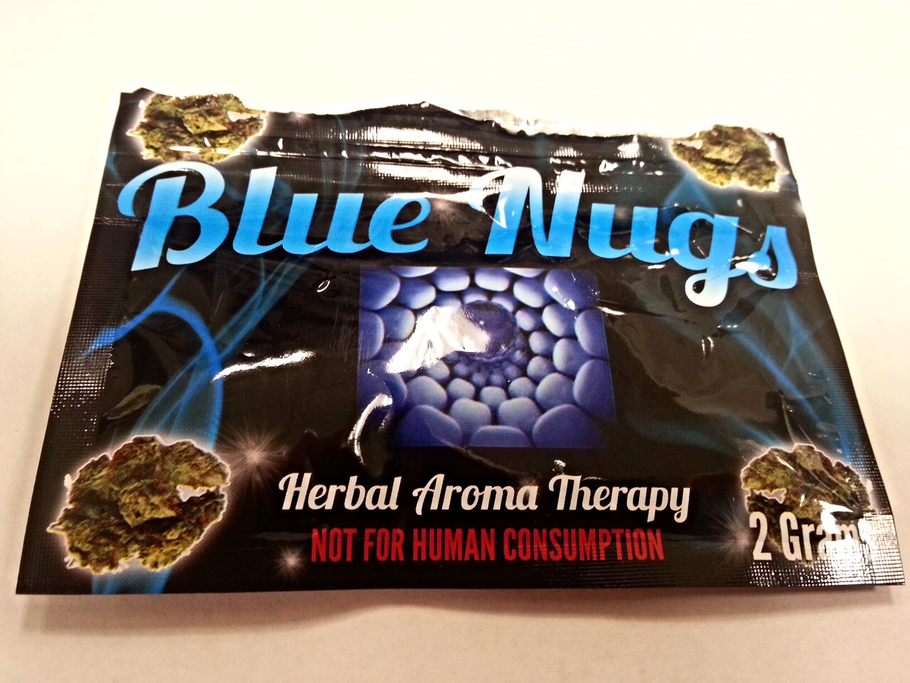 blue nugs front package