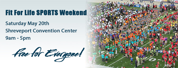 Fit for Life Sports Weekend - Click for more information