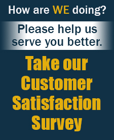 Please take our Customer Satisfaction Survey