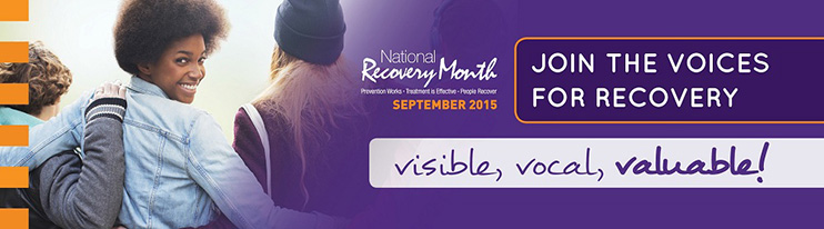 National Recovery Month -September 2015