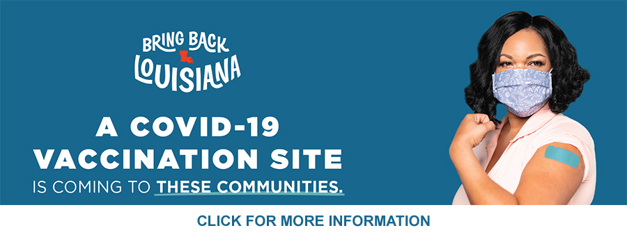 Click for Community Vaccination Sites